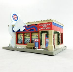 Chicago Cubs Vtg Laundromat Dry Cleaner Village